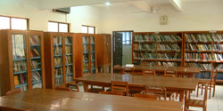 Photo of Dental school library